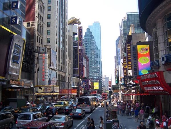 ニューヨーク市街