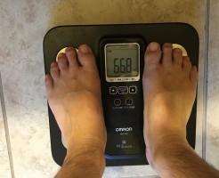 ダイエット後の体重