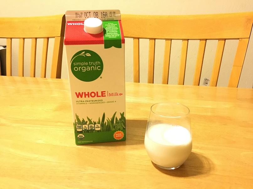 オーガニック牛乳