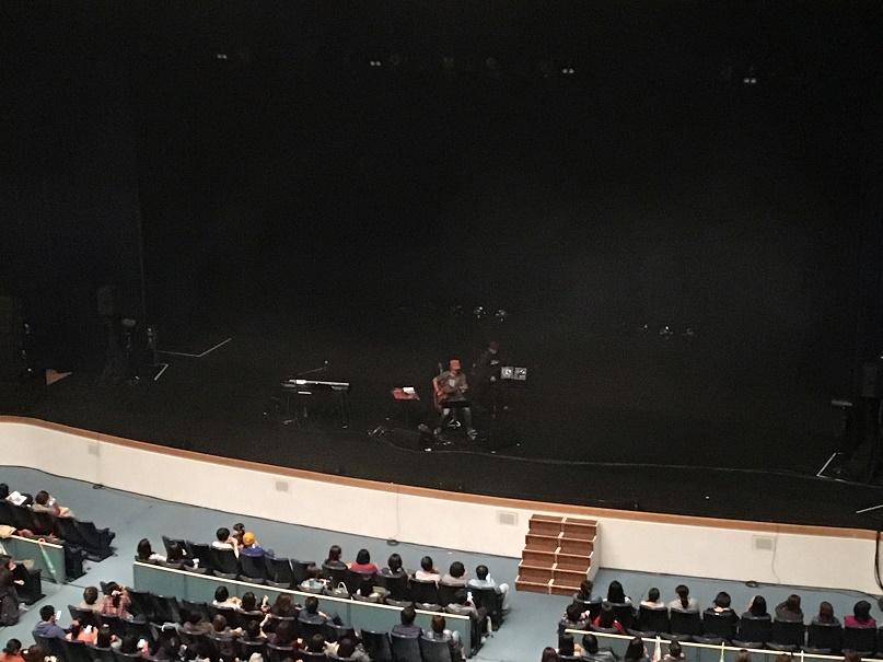 山崎まさよしのステージセット