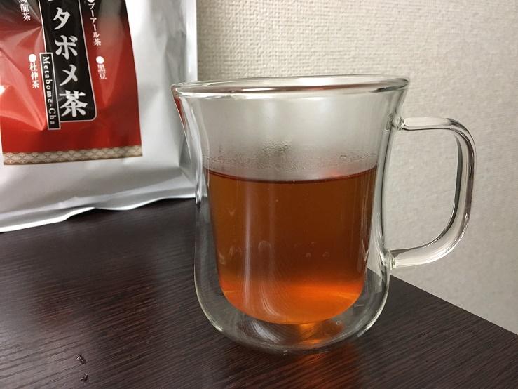 メタボメ茶の色