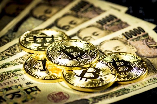ビットコインと一万円